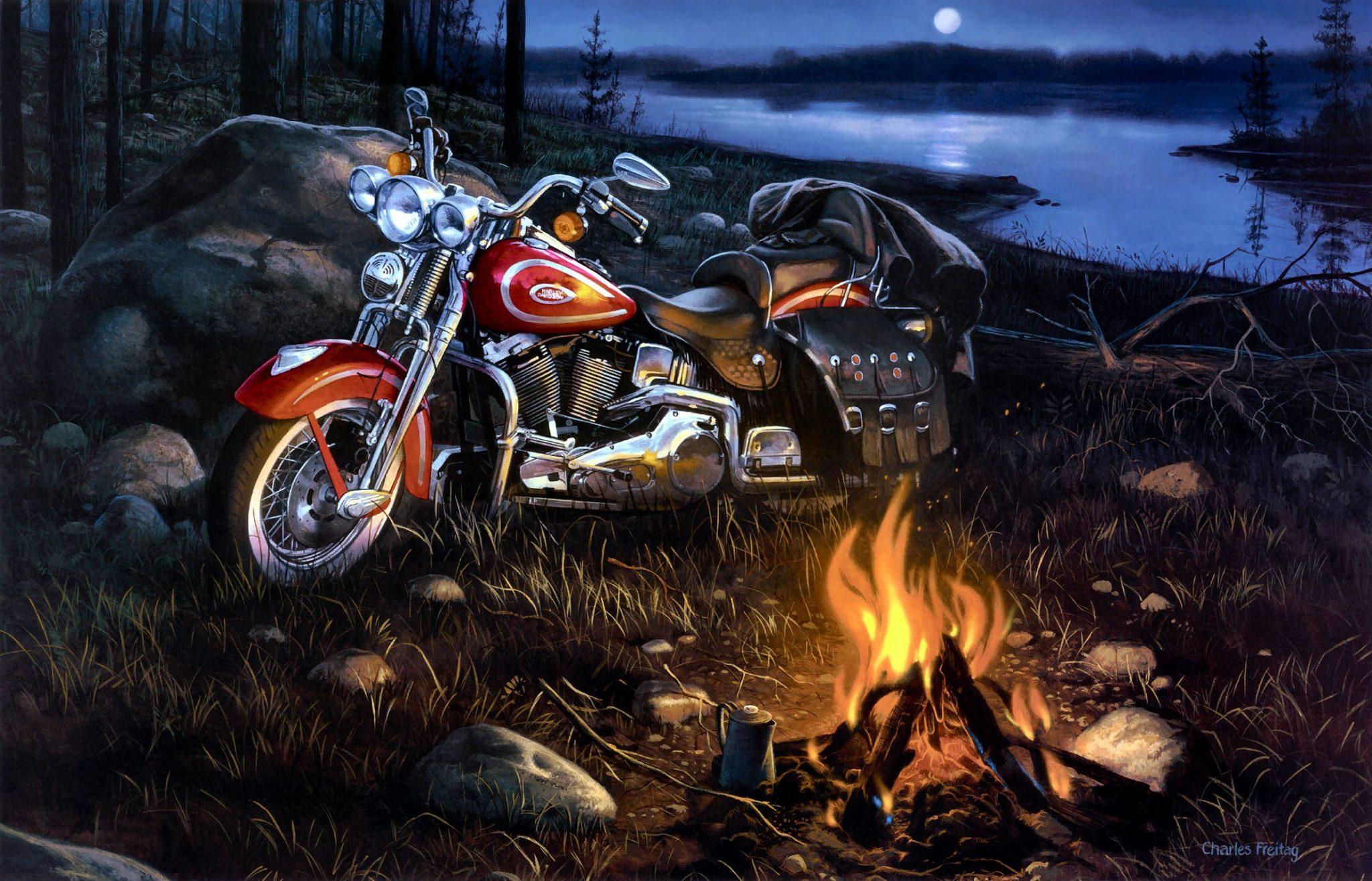 Harley-Davidson-Motocyle-full-HD-Wallpaper-13