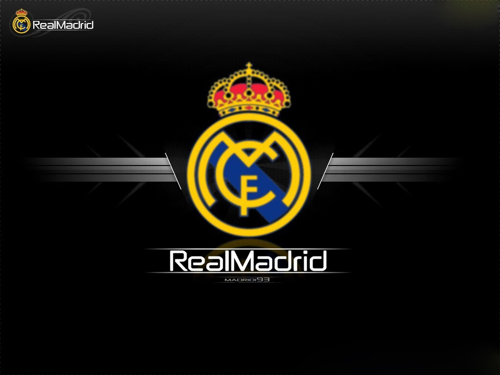 Real Madrid Logo Sport Hd Wallpaper 09