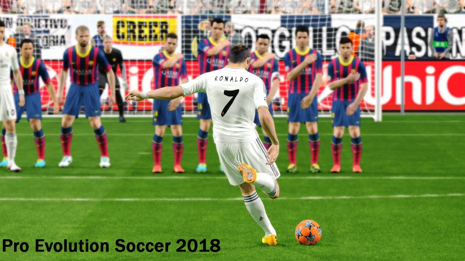 pro evolution soccer 2018 backgrounds hd. Black Bedroom Furniture Sets. Home Design Ideas