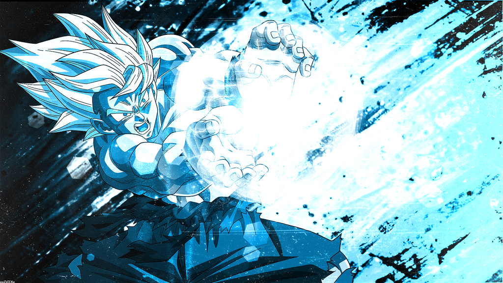 Goku Super Saiyan Blue Wallpaper Hd 02