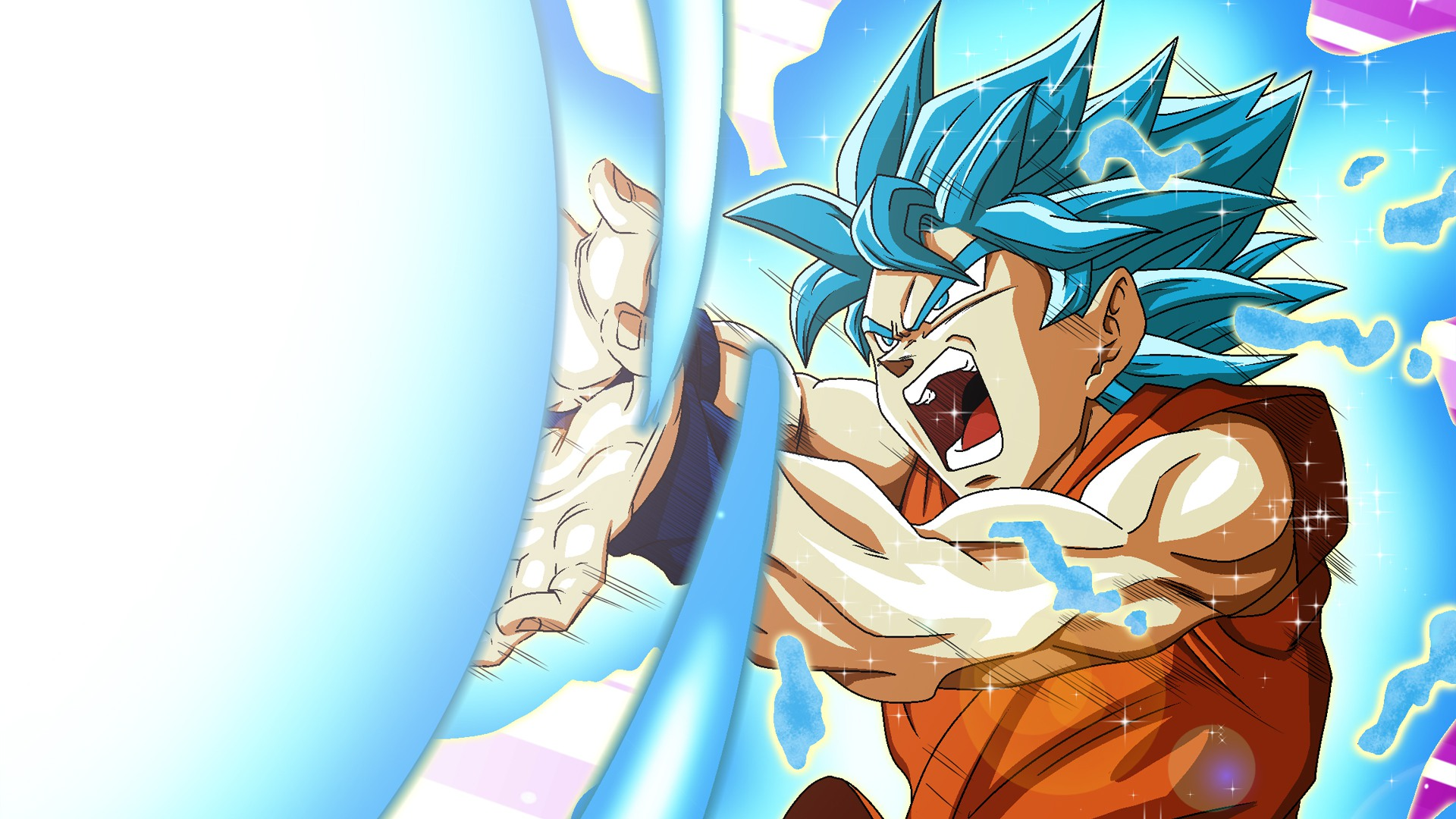 Goku super saiyan blue wallpaper hd - Goku vs vegeta super saiyan 5 ...