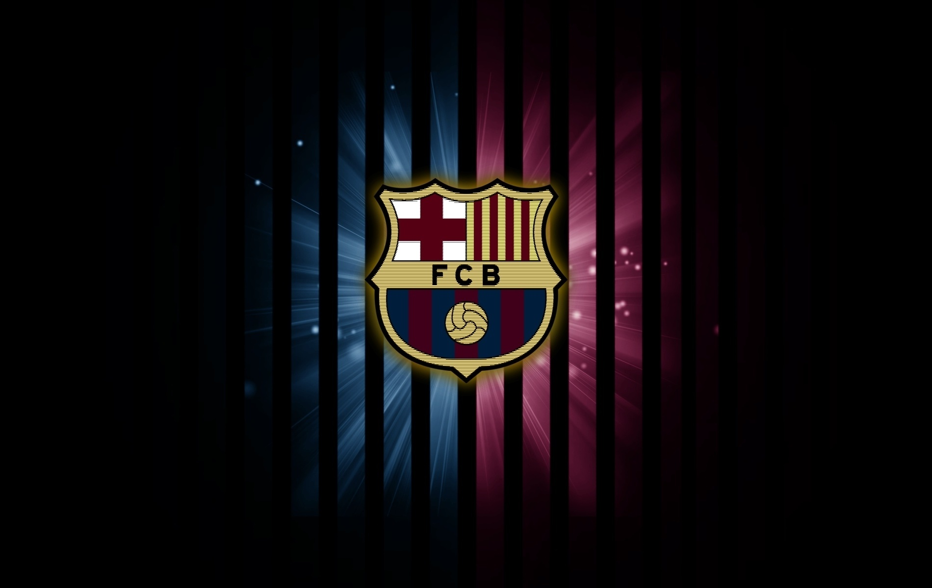 Download Free FC Barcelona Logo Wallpaper