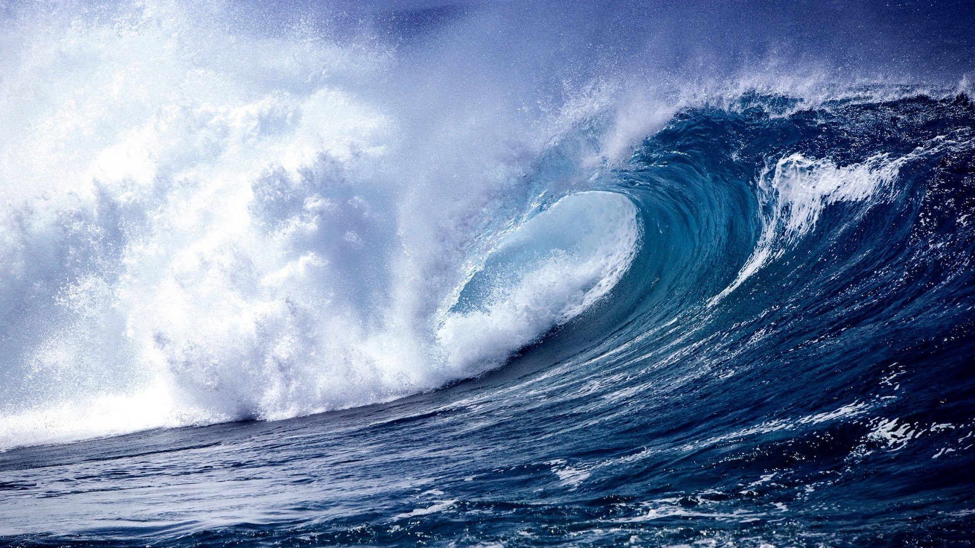 Beautiful Ocean Waves Wallpaper HD