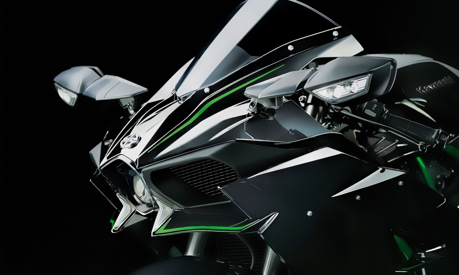 Kawasaki ninja h2r wallpapers hd for Fond ecran r6