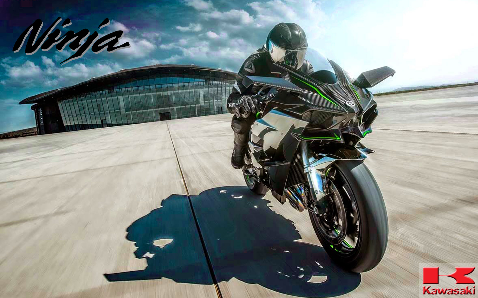 Free Download Kawasaki Ninja H2r Wallpapers HD