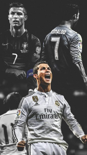 Cristiano Ronaldo Iphone Widescreen Background 349x620