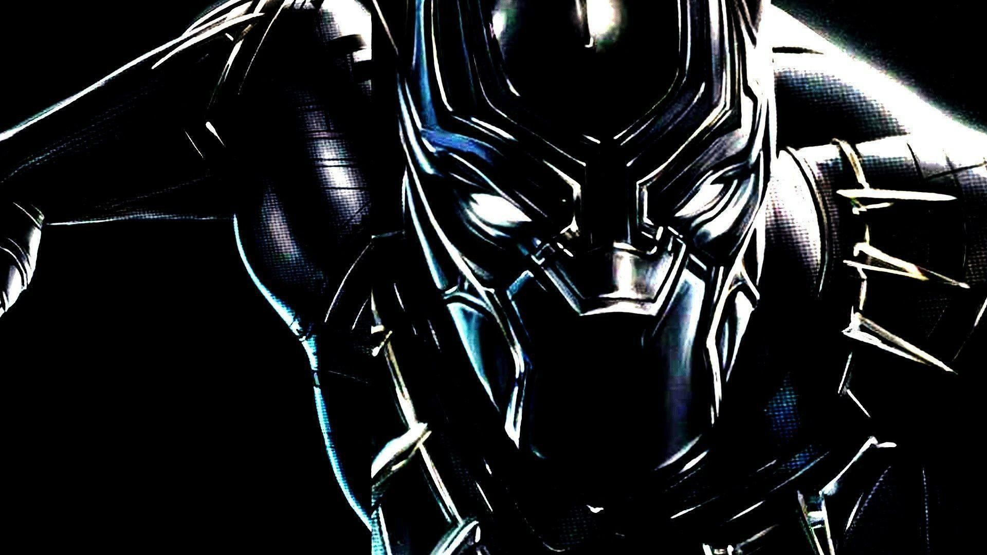 Full hd 1080p black panther wallpaper hd for Black wallpaper full hd