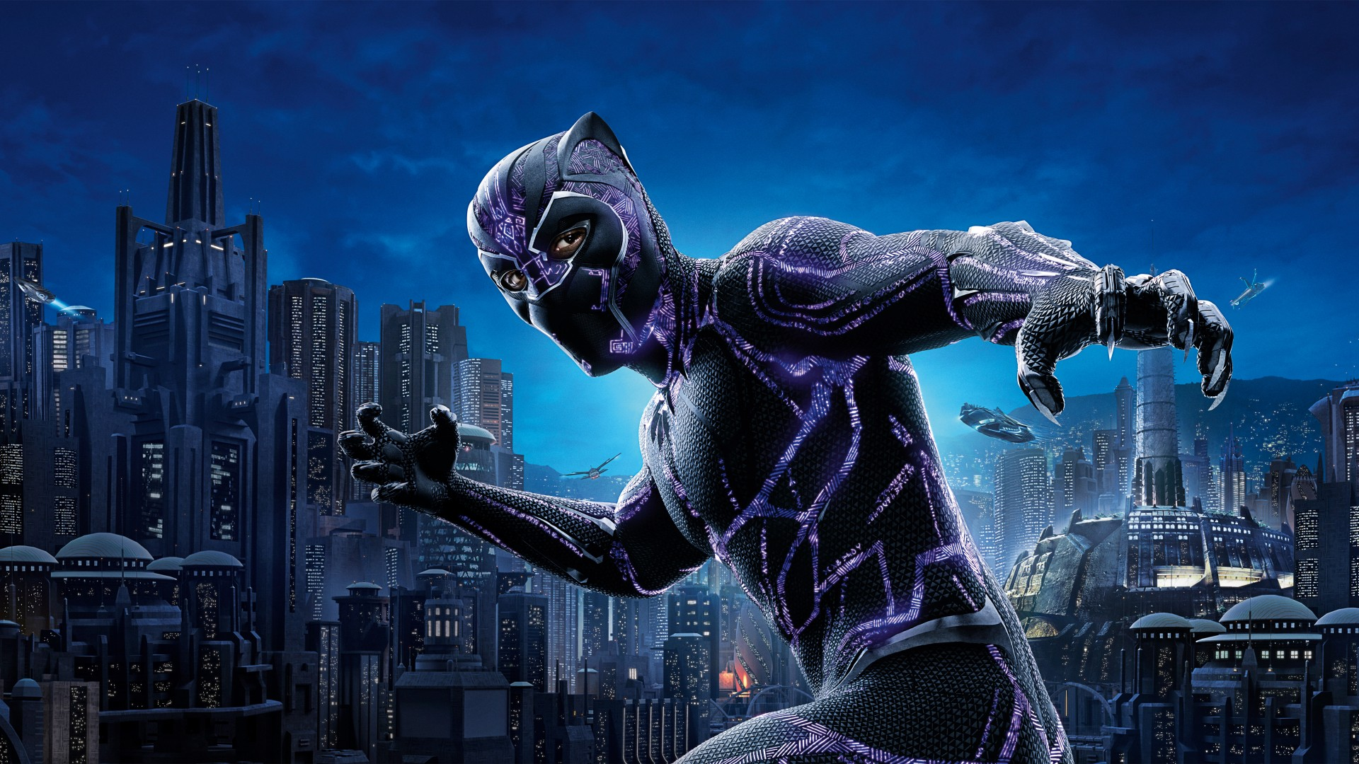 full hd 1080p black panther wallpaper hd