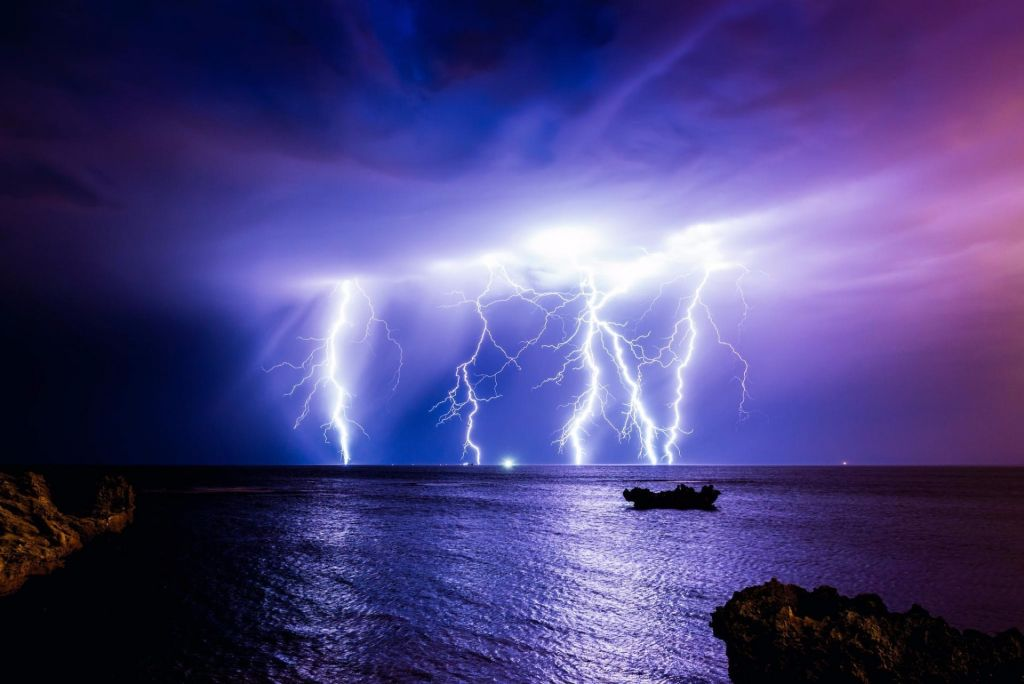 Collection Lightning Storm Images