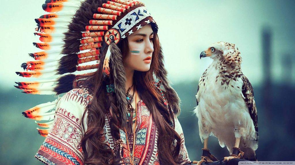 Beautiful Aboriginal Girl Wallpaper