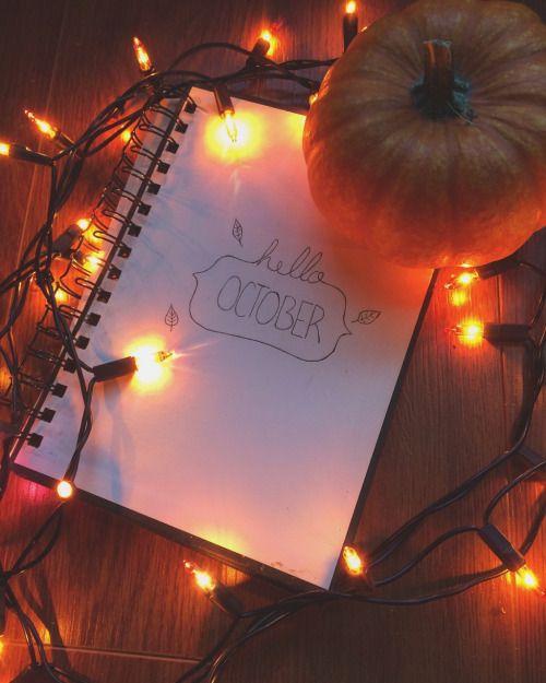 Free Hello October Wallpaper Hd