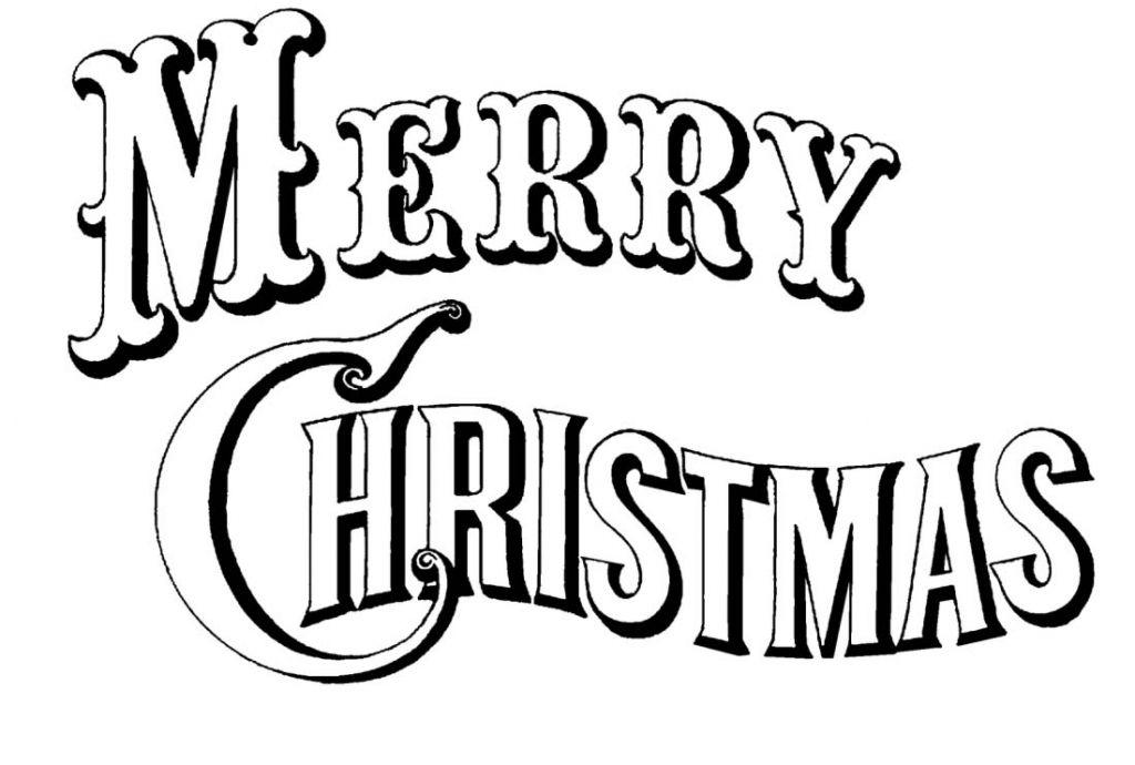 Top 40 Merry Christmas Logo Vector